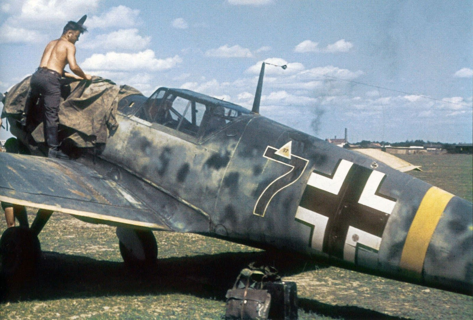 messerschmitt bf 109 coloring pages - photo#27