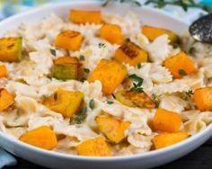 One pot pasta au potiron et fromage frais 0%