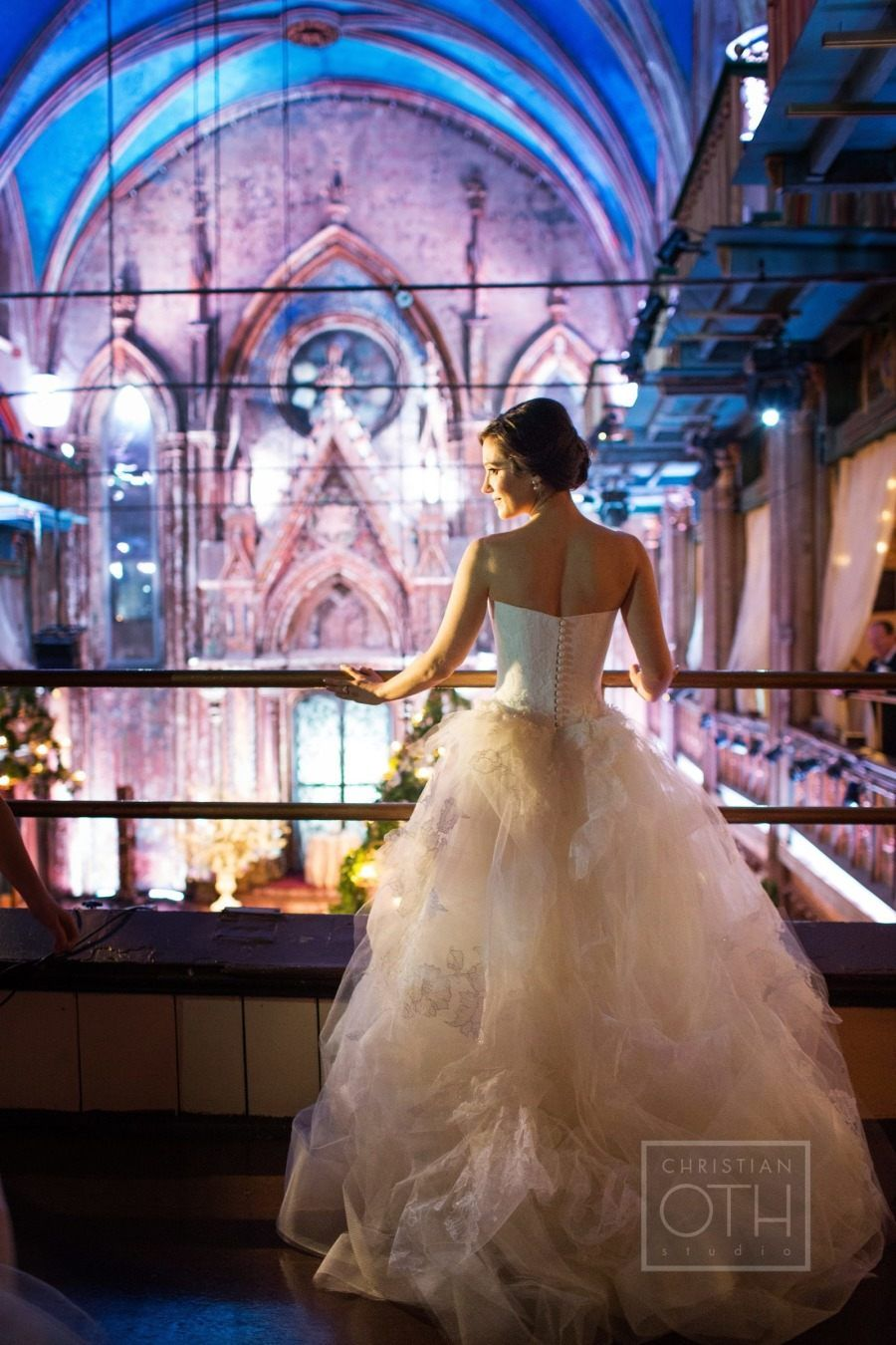 Elegant ballroom glamour manhattan wedding from loli events dress