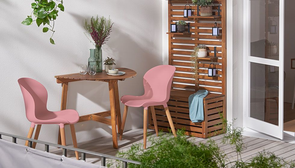 Entspannte Balkonzeit Loungemöbel, Outdoor Leuchten ...
