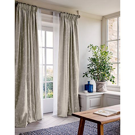Buy John Lewis Croft Collection Recycled Glass Vase Blue Online - John lewis curtains grey