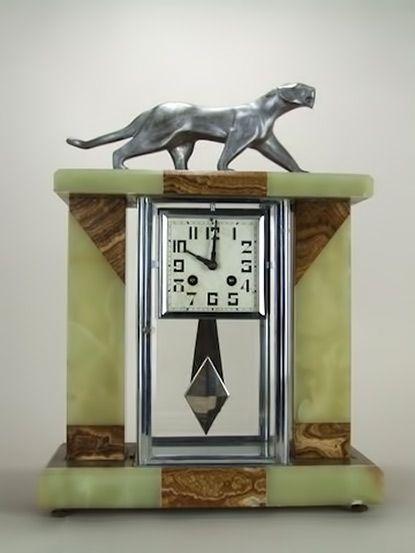 Ceramic Clocks Art Deco Interior Art Deco Furniture Art Deco Clock