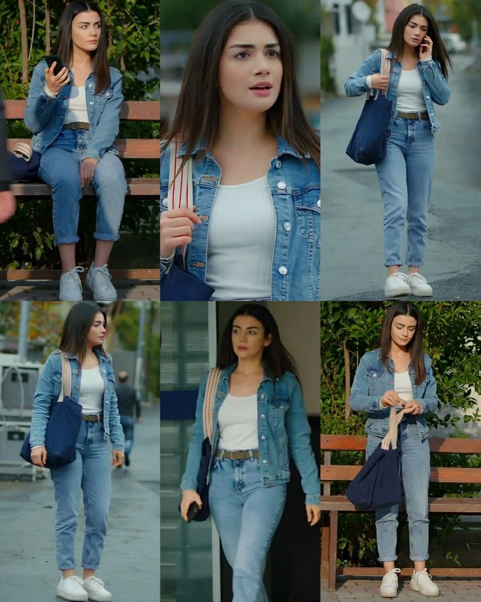 Serra 4 Episode Sol Yanim Tv Show Outfits Casual College Outfits Fashionable Work Outfit