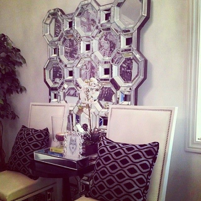 victoria cook Incorporated our popular Axis Mirror into her regal - bucherregal designs akzent interieur