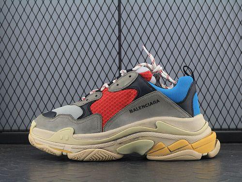 b46609e498f Italian factory Balenciaga Triple S 17FW Balenciaga autumn and winter color  retro running shoes-11102081 Whatsapp 86 17097508495