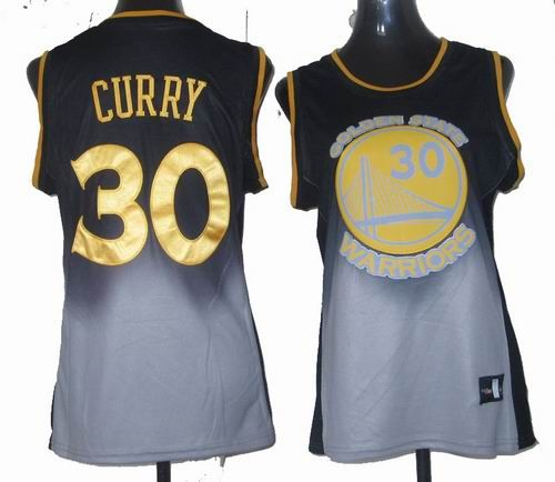 brand new 4fd2b c15b3 golden state warriors 30 stephen curry black gray fadeaway ...