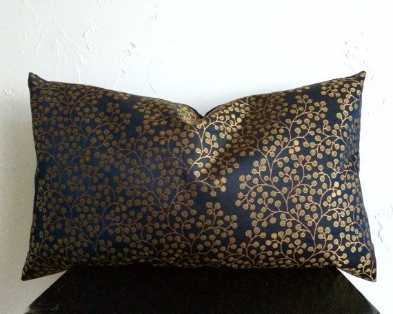 16X26 Pillow Insert Bohemian Pillow Cover 16X26 Navy Pillow Coverainthatastitch