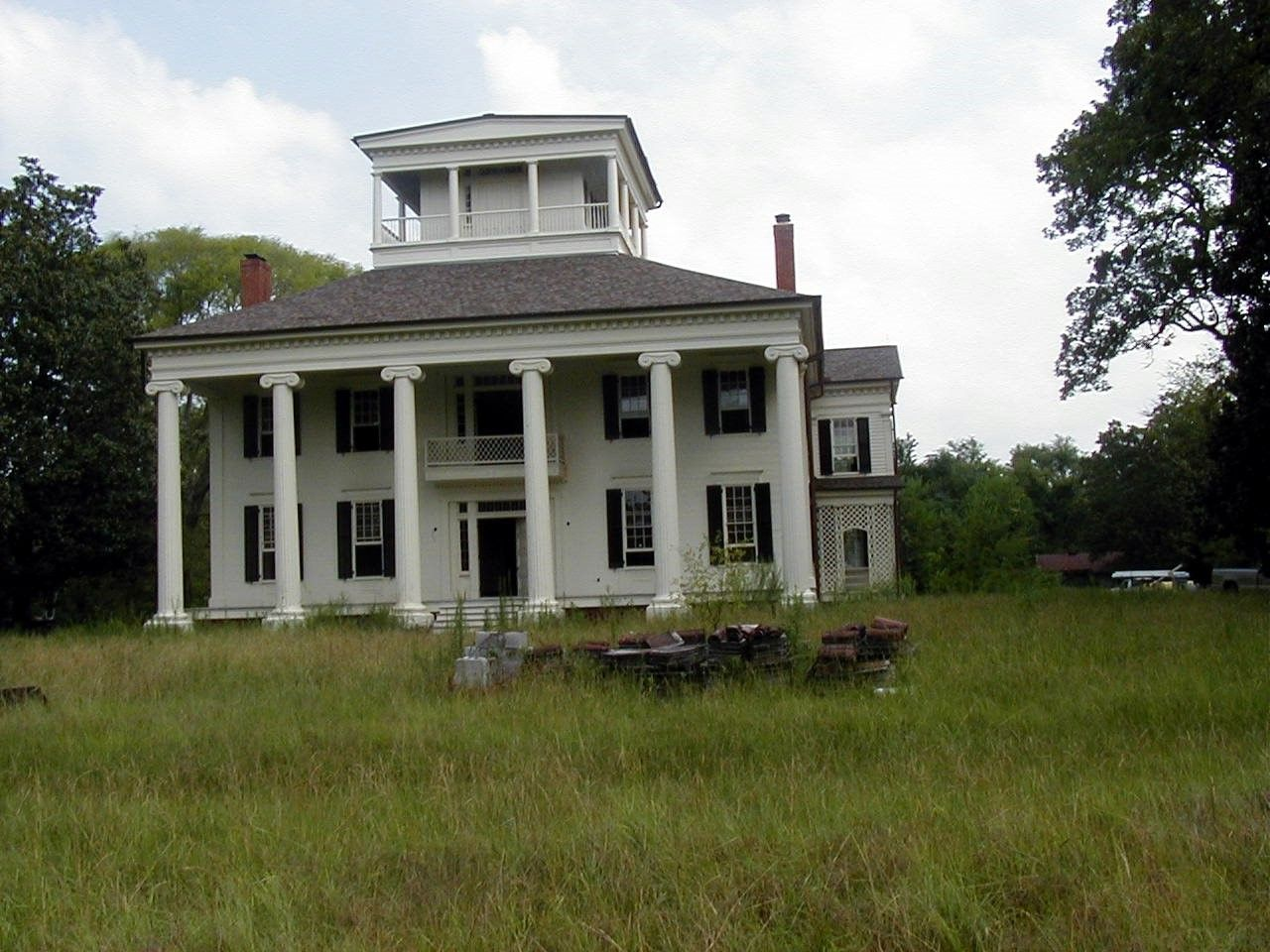 Abandoned Plantations in the South Here Rosemount is