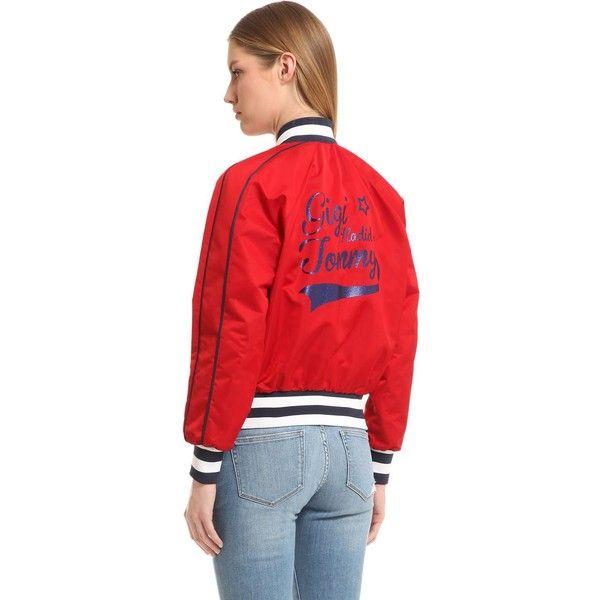 Tommy Hilfiger Women Nylon Bomber Jacket Gigi Hadid 10 960 Uah