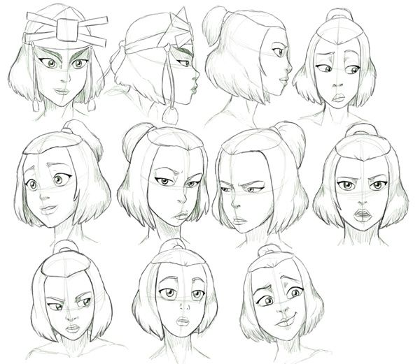 Avatar By Nylak On Deviantart Character Design Drawing Expressions Sketches