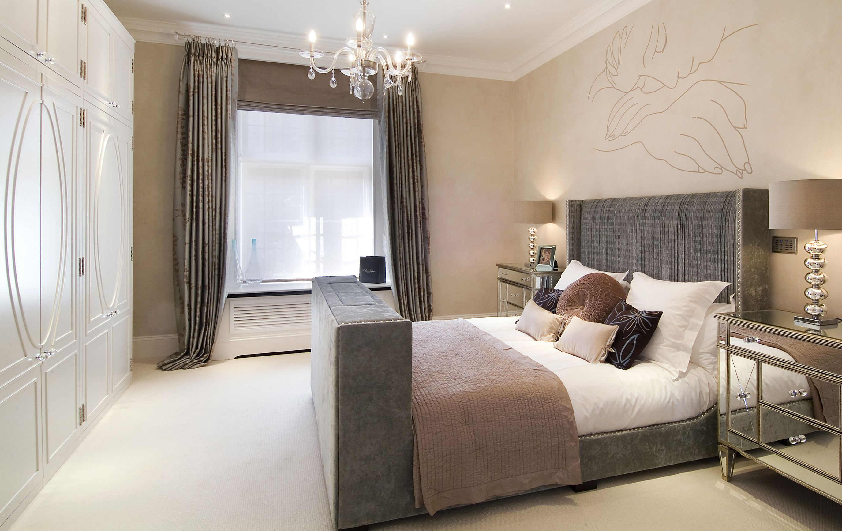 Glamorous Bedroom Furniture Uk Glamorous bedroom decorating ideas