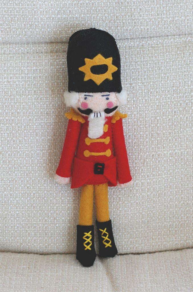 Nutcracker how to pinterest felting sew pattern and dolls make for my daughter as a gift for when she performs the nutcracker solutioingenieria Image collections