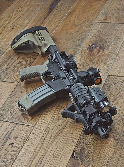 .300 Blackout AR pistol                                                                                                                                                      More