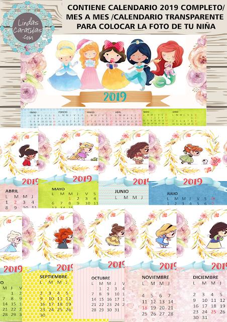 Calendario Bosque Magico 2019.Pin En Caratulas Infantiles