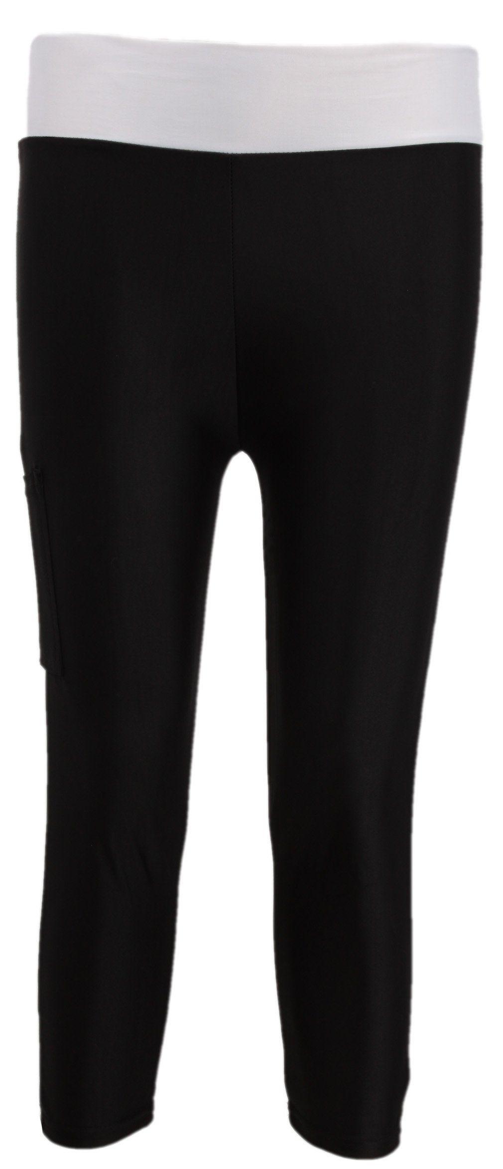 Hengsong - Women's Tights Running Yoga Sport Pants Fitness Gym Leggings (S, Black)