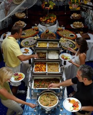 How to arrange a casual dinner buffet table decorating buffet how to arrange a casual dinner buffet table watchthetrailerfo
