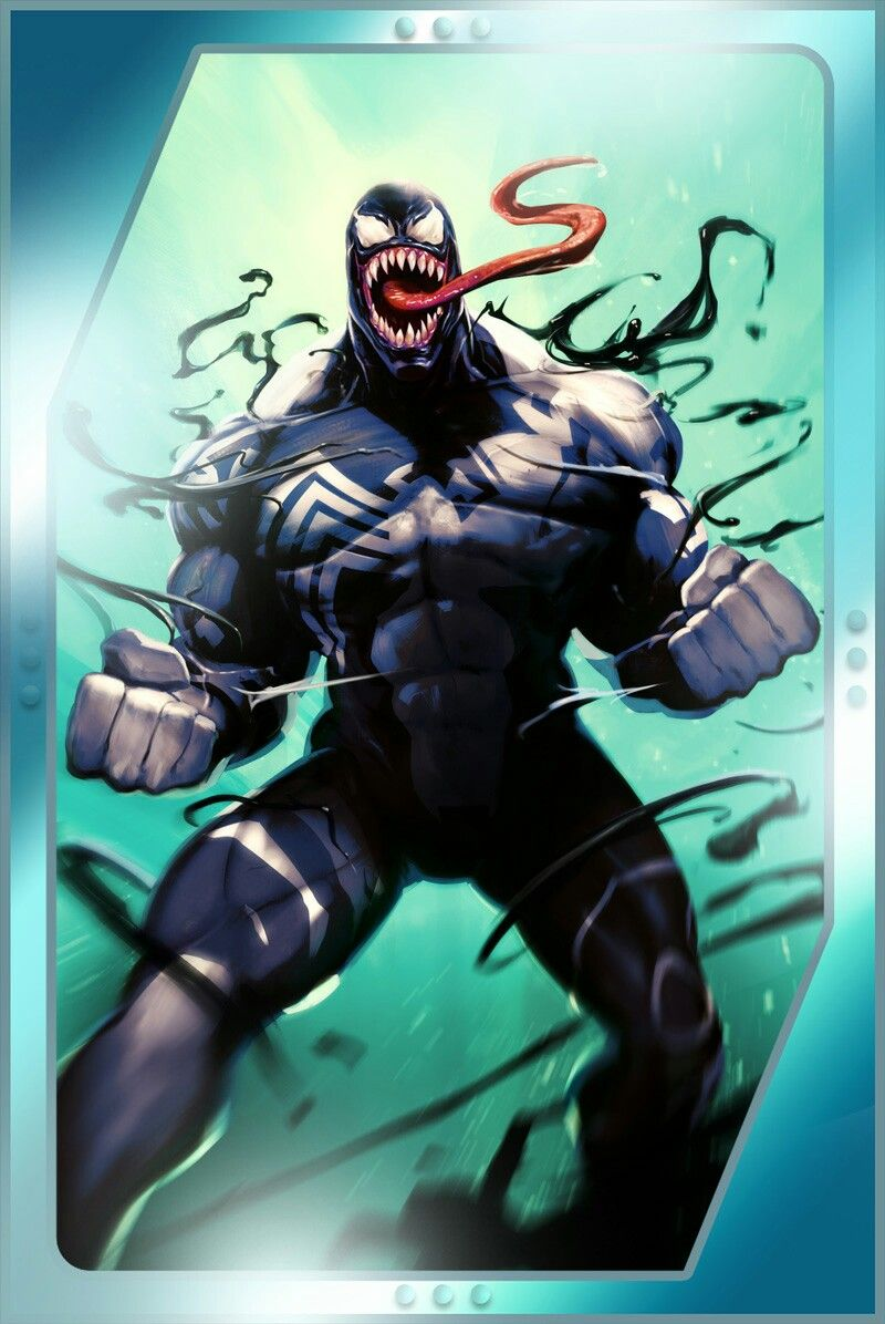 smu_upd34_starved_venom | cómic | pinterest | spider man unlimited