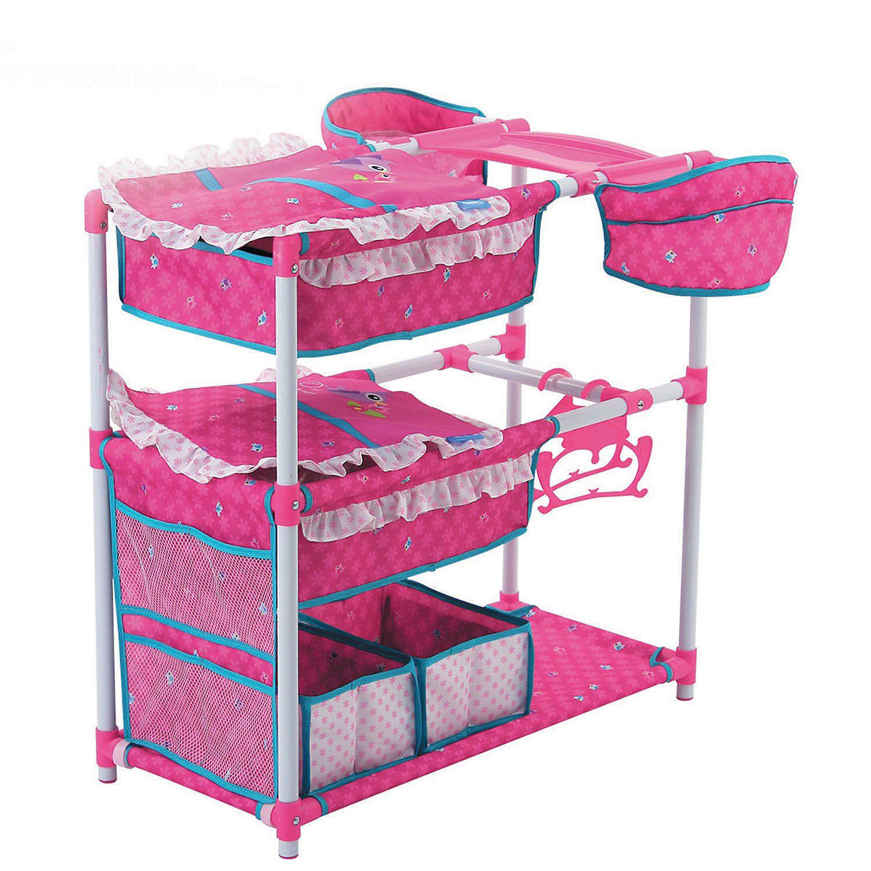 Birdie Doll Twin Play Center In 2020 Baby Doll Furniture Baby Doll Nursery Baby Dolls