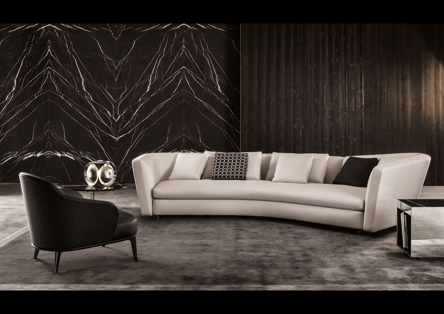 Sofa from Minotti's 2015 Collection