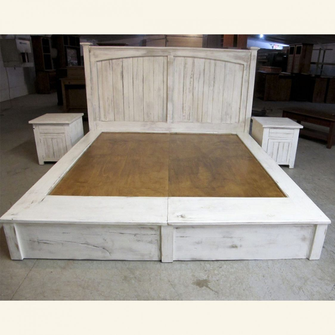 How to build a beautiful DIY bed frame & wood headboard