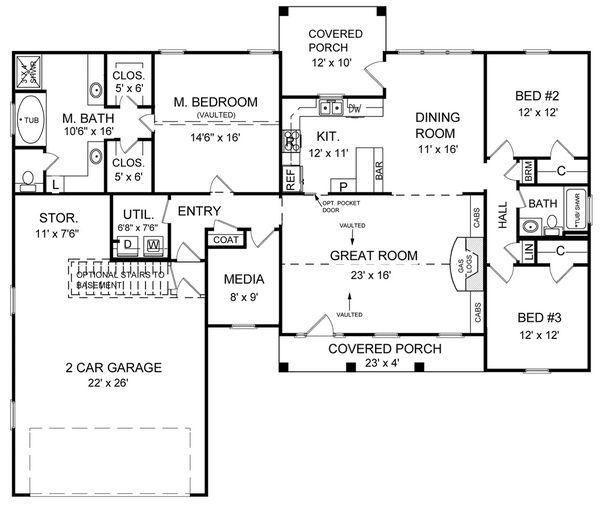 Awesome 1800 Square Foot Ranch House Plans Ranch House Plans Traditional House Plans House Plans