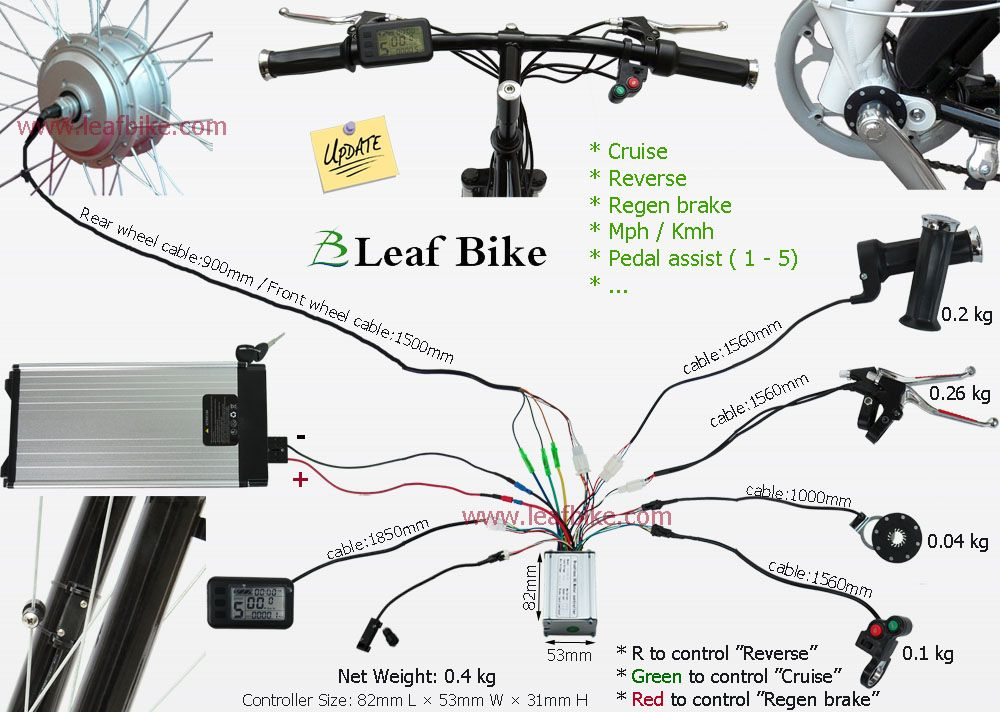 Connect Brushless Motor Controller Tim Với Google Electric Bike Conversion Electric Bike Ebike Electric Bicycle