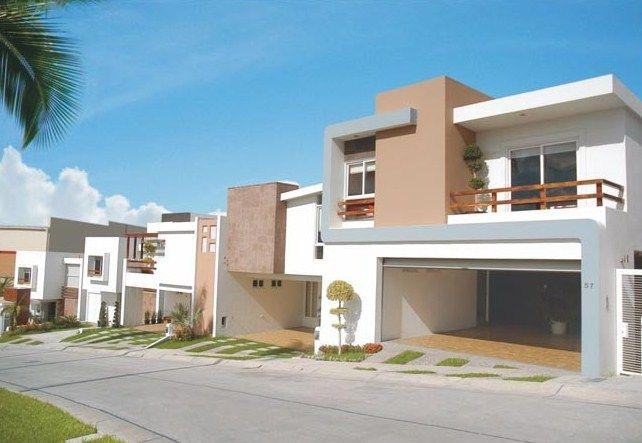 Casas residenciales casa pinterest casas for Casas modernas residenciales