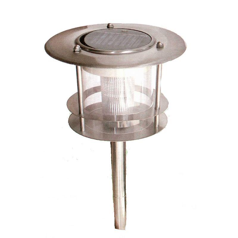 lampada solare da giardino