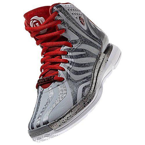 f4610230e7c Adidas D Rose 4.5 J G99512 Clear Grey Light Scarlet Dark Onix Kids Boys