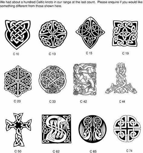 Some Interesting Celtic Symbols Symbols And Tattoo