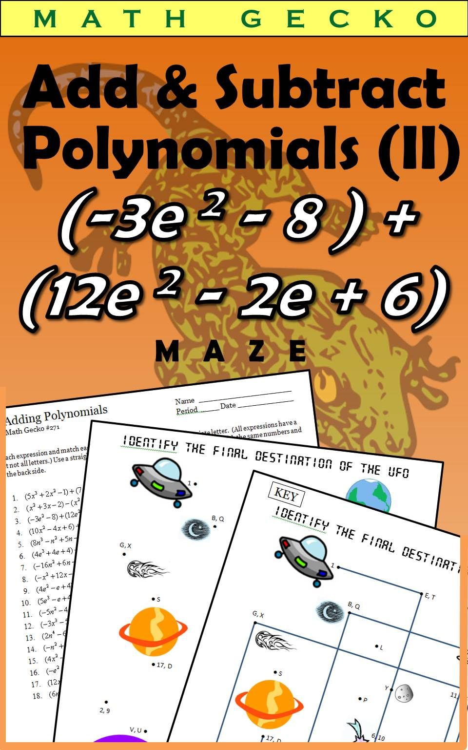 How To Add And Subtract Polynomials 35 Surefire Examples Adding And Subtracting Polynomials Polynomials Adding And Subtracting