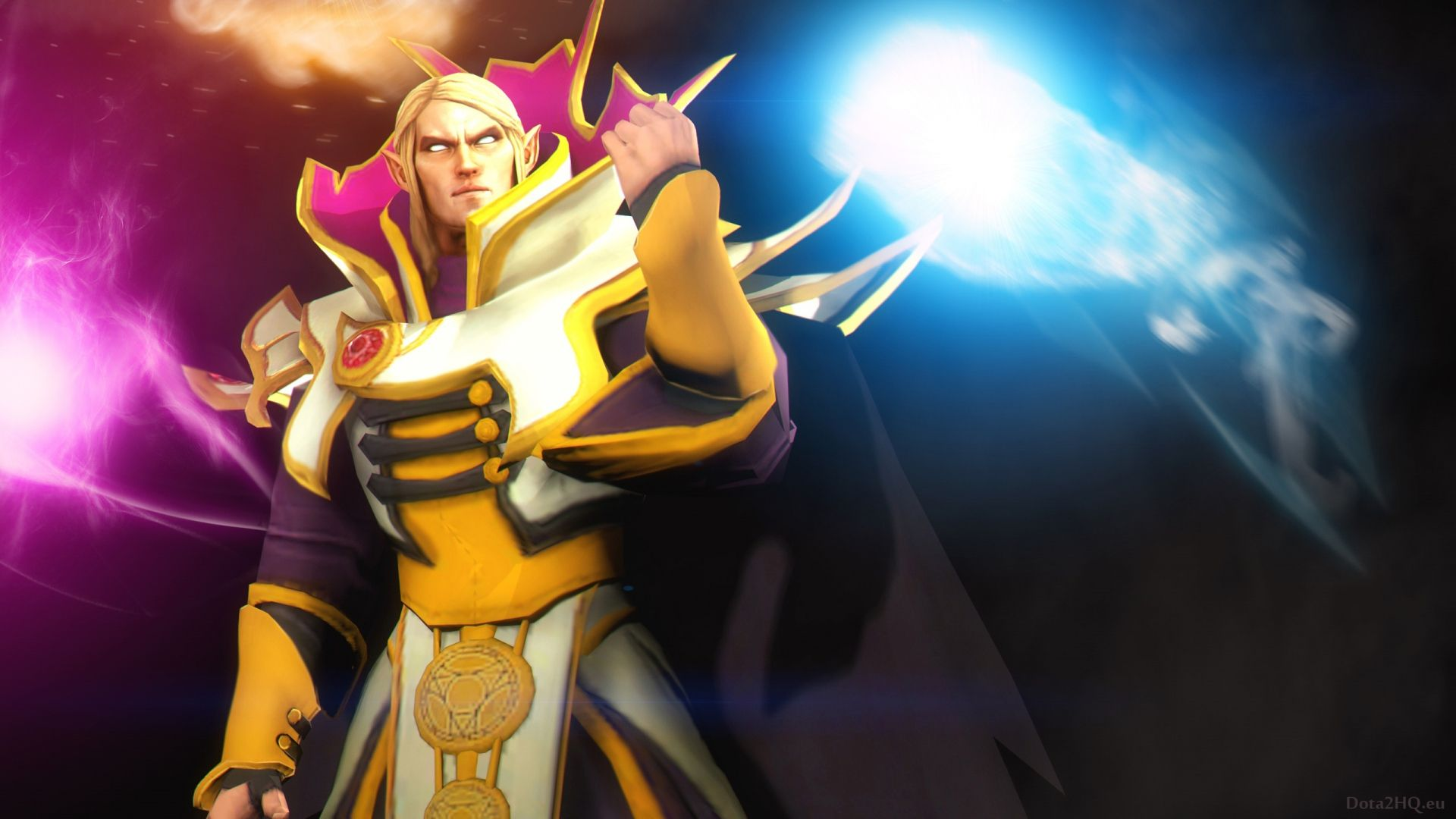 Stylish Invoker Dota 2 Art 78 HD Anime Wallpaper Kuff Games