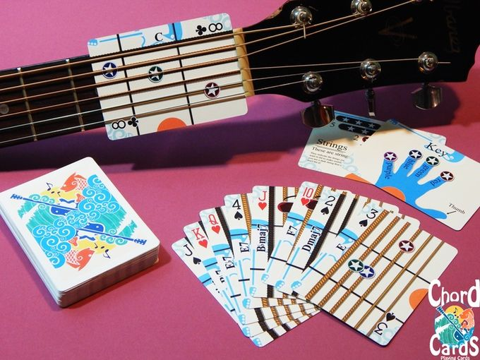 Chord Cards Playing Cards | LoAd Cartoons | Pinterest | Playing ...