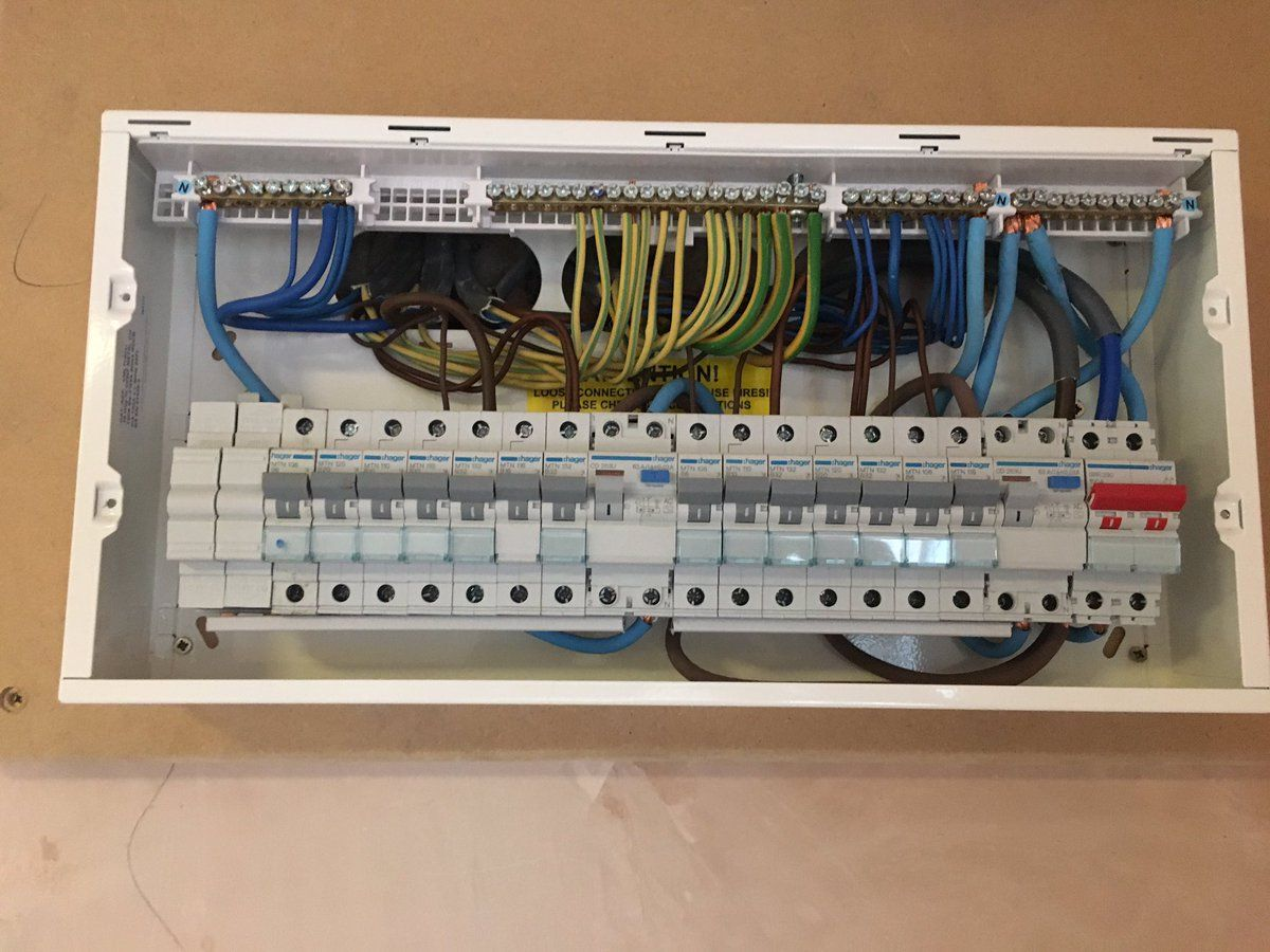 Hagergang Twitter Search Electrical Installation Installation The Unit