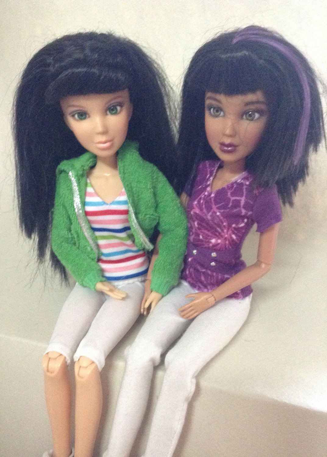 NEW LIV FOR HAIR BROWN LONG HAIR WIG AND DOLL ACCESSORIES