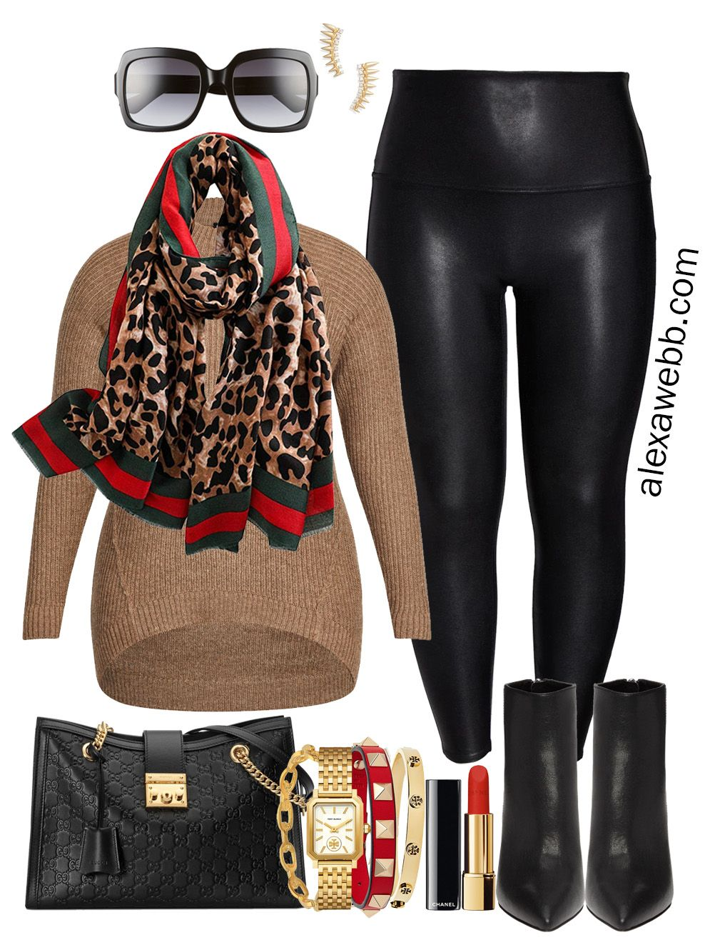 Photo of Plus Size Gucci Scarf Outfits – Part 2 – Alexa Webb