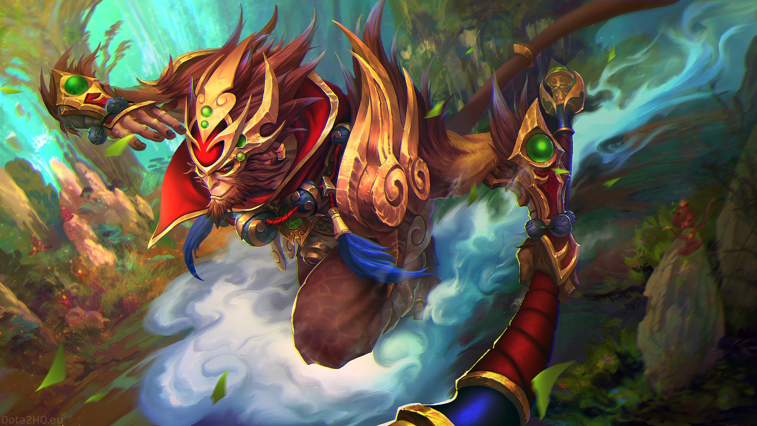 2560x1440 Monkey King Dota 2 Wallpaper Hd