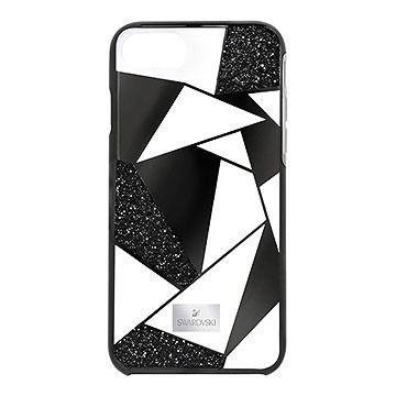 0f85822d1 Heroism Smartphone Case with Bumper, iPhone® 8, Black from #Swarovski