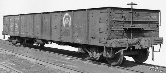 Prr 862790 Prr Class Gsd Gondola Railroad Photos Model Railroad Old Train