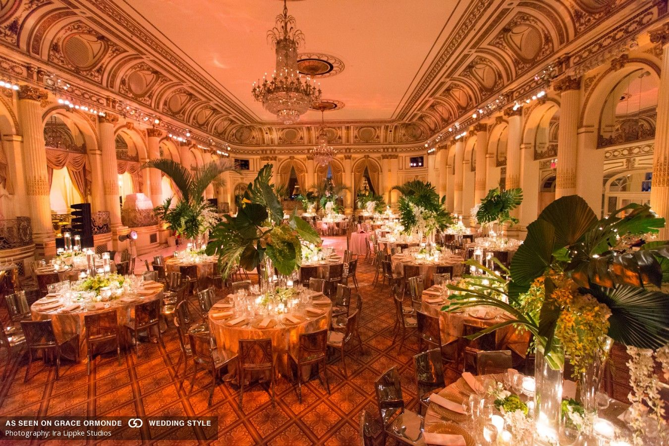 An Elegant and Modern Wedding At The Plaza Hotel In New