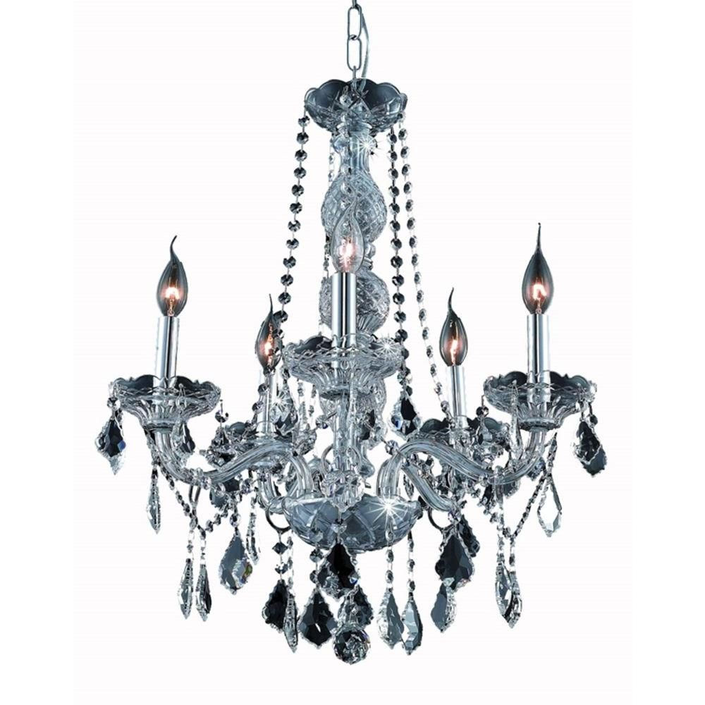 Elegant lighting 5 light silver chandelier with grey crystal check the vesuvian collection supplied by commercial lighting industries is redefining the lighting industry with the most exquisite and tasteful fixtures mozeypictures Gallery