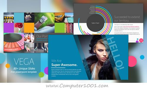 vega template powerpoint | aa | pinterest | templates, Powerpoint templates