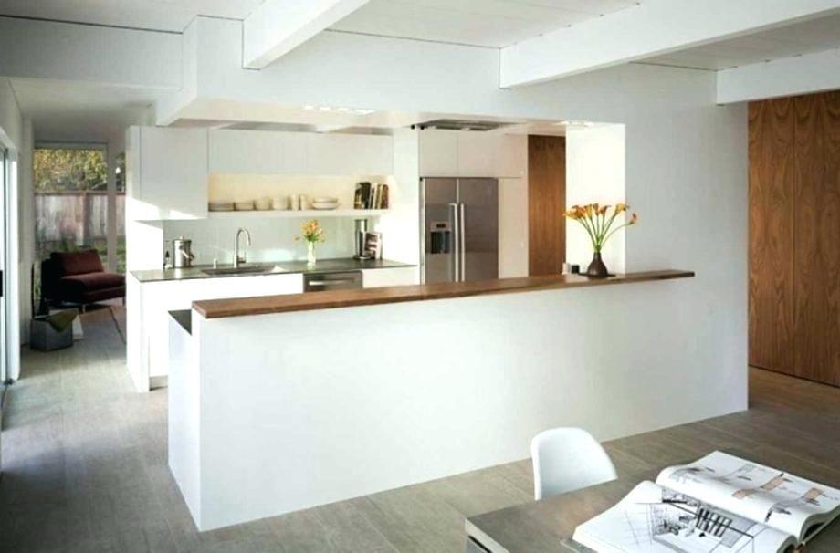 Bar de separation cuisine ouverte cuisine semi ouverte sur - Cuisine ouverte sur salon avec bar ...