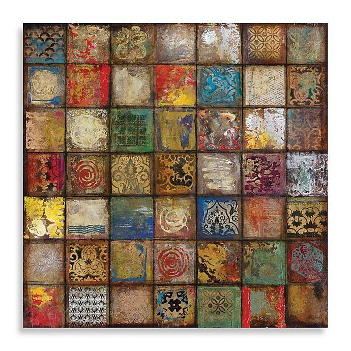 "John Douglas ""Baroque Collage II"" Canvas Print   Bed Bath & Beyond"