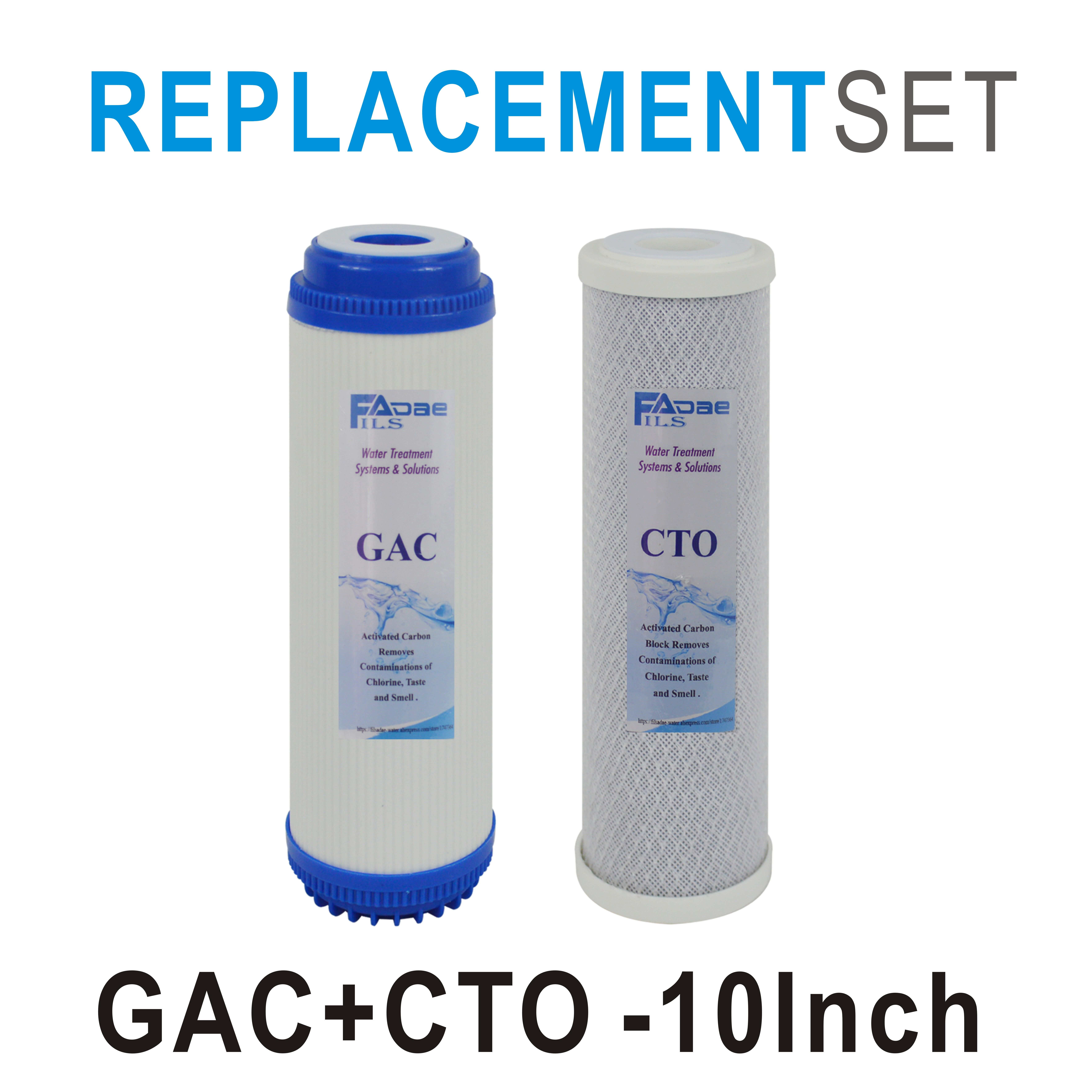 Carbon Water Filter System Reverse Osmosis Water Filtration System Replacement Filters Supply