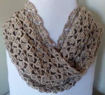 Free Easy Crochet Infinity Scarf Pattern - SassaFrass Crochet ...