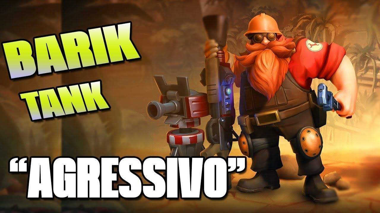 Jogando De Barik Paladins Full Agressivo Tank Paladins Gameplay