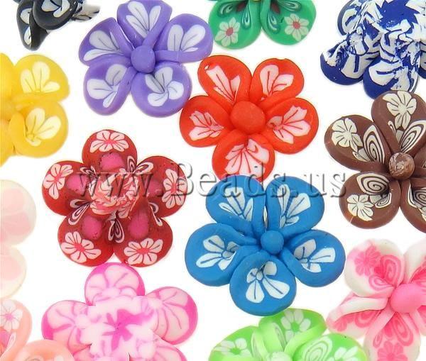Kralen van polymeer klei, die bloemen vind je tegenwoordig echt overal~~ http://bit.ly/YZngC6