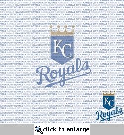 MLB Fanatic: Kansas City Royals 12 x 12 Paper