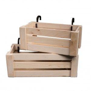 Drewniane Skrzynki Balkonowe Sklep Online Domek Z Kart